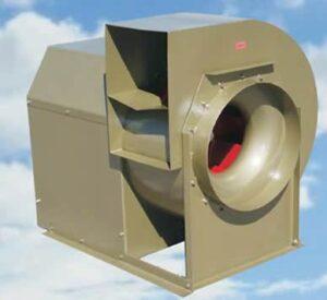 Imagen de ventilador centrífugo industrial