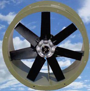 Imagen de ventilador turbo axial